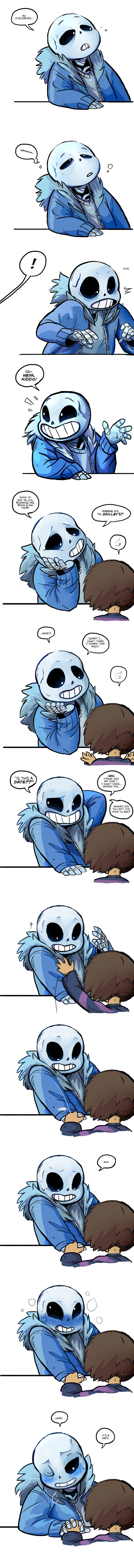 Lunch Break (Undertale) by AutopsyJuice