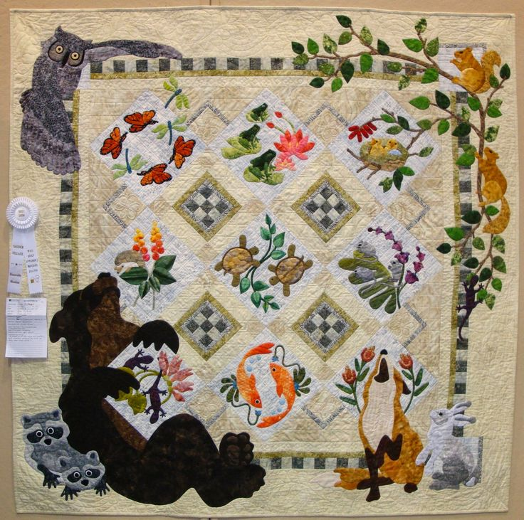 256 Best Images About Animal Quilts On Pinterest Beauty