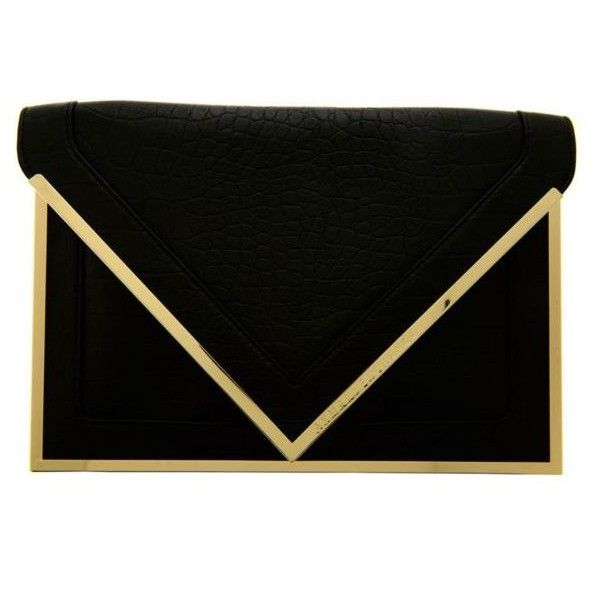 Armani Exchange Envelope Clutch ( 78) ❤ liked on Polyvore  5e3c1522a07f1