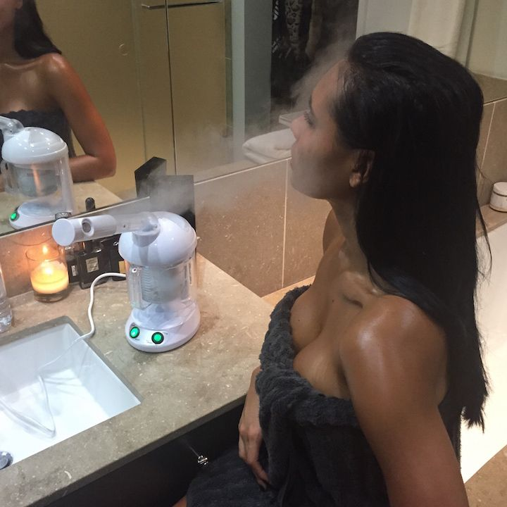 At Home Spa Treatment Face Steamer