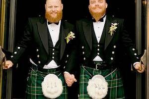 A big gay Mormon wedding