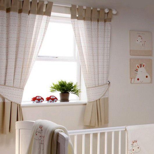 шторы в детскую для новорожденного мальчика