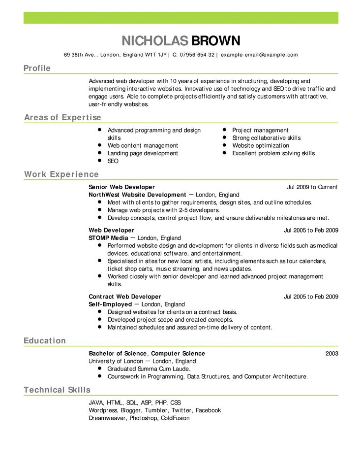 25+ unique Resume format for freshers ideas on Pinterest Format - format for professional resume
