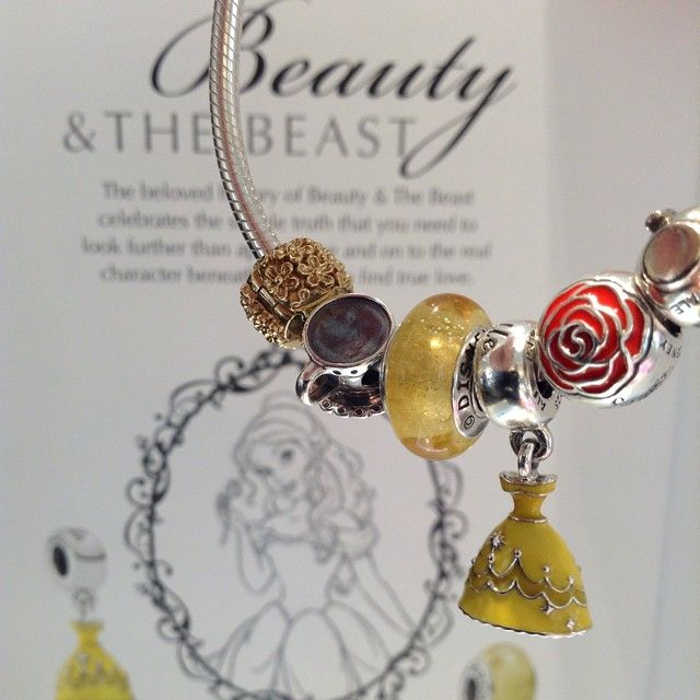 For the beauty in your life. Come in and see our brand new Disney collection featuring Princess Belle at the Pandora Store!