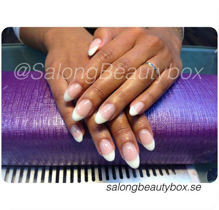 Franska gelenaglar :) Salong Beautybox