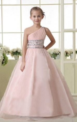 Bridesmaid Dresses,Lovely Bridesmaid Dresses,Fancy Organza Empire Ball Gown Floor-length Dresses