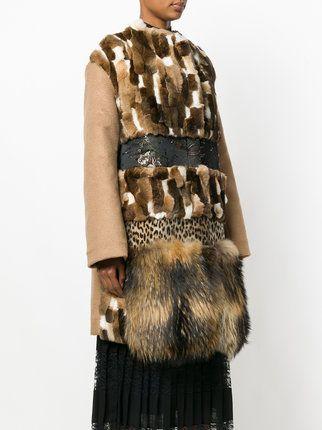 Antonio Marras пальто с панельным дизайном
