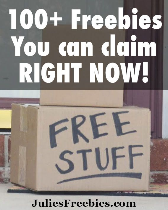 100+ Freebies that you can claim right now! Get free stuff in the mail!