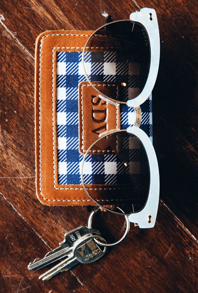 Barrington Gifts Wallet, mother of pearl glasses