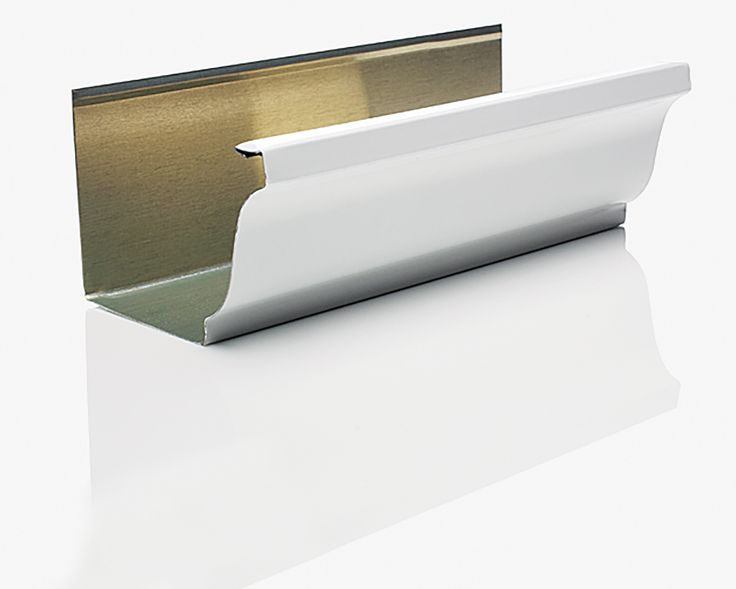 Everything You Need To Know To Select And Maintain These Unsung Heroes Of Roof Water Management Gutters Steel Sheet Metal Gutter Accessories