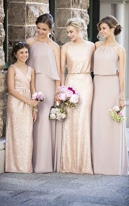 We love the new Jr. Bridesmaid line by Sorella Vita