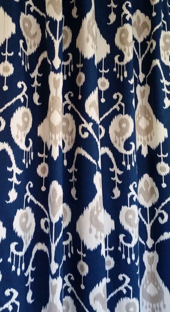 best 25 navy blue curtains ideas on pinterest blue curtains living room navy blue shower. Black Bedroom Furniture Sets. Home Design Ideas