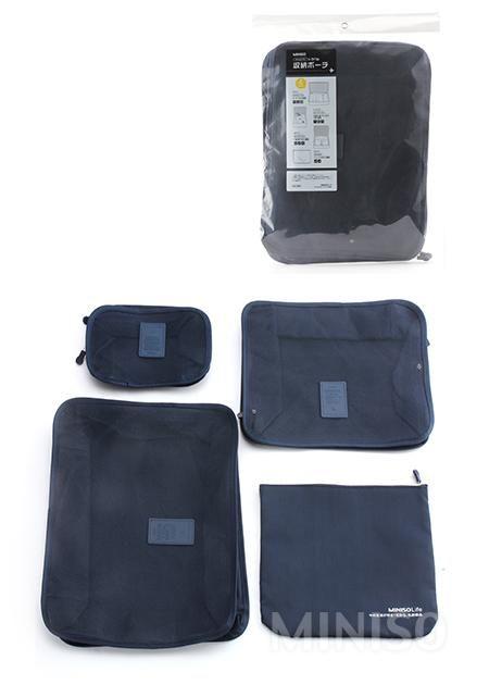 Travel Storage Box.3 pieces (Blue)