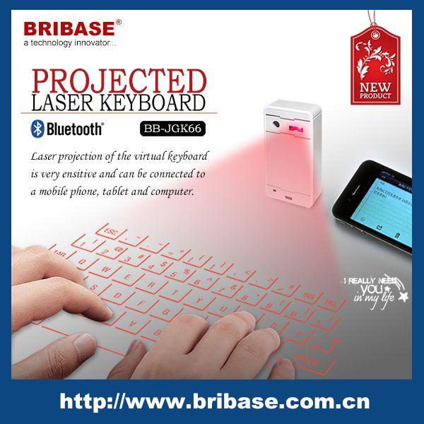 Bribase 2014 Nueva teclado wireless Láser Proyección para la tableta, PC, SmartPhone-imagen-Teclados-Identificación del producto:300000591645-spanish.alibaba.com