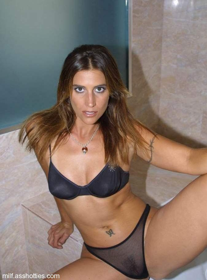 latina in lingerie