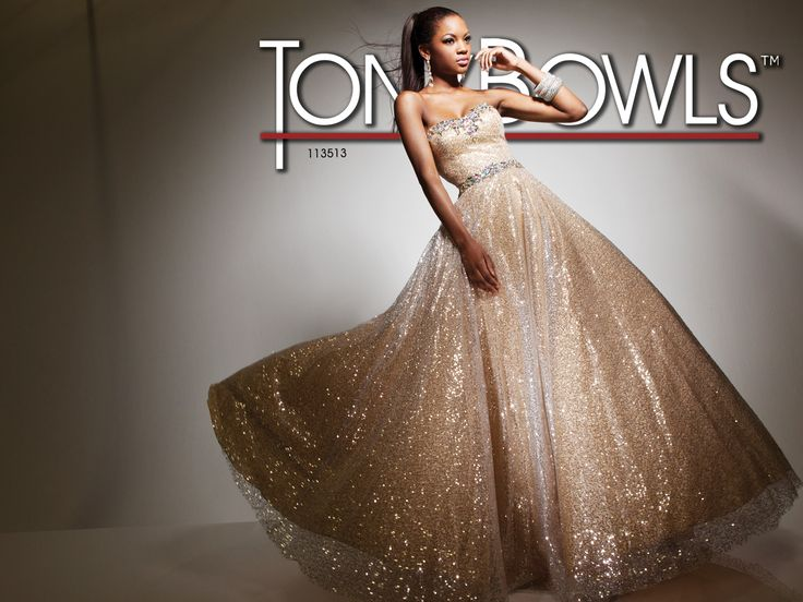 Tony Bowls Le Gala  »  Style No. 113513  »  Tony Bowls Prom 2013 available at Binns of Williamsburg