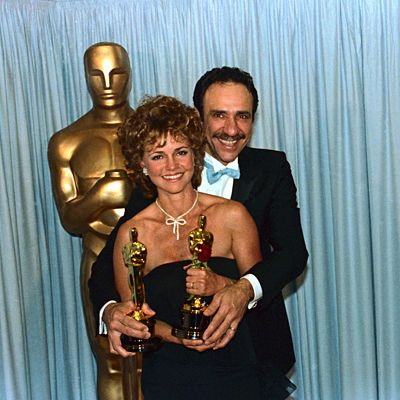 "1984 Oscar Winners - Sally Field - Best Actress for ""Places in the Heart"" and F. Murray Abraham - Best Actor for ""Amadeus"""