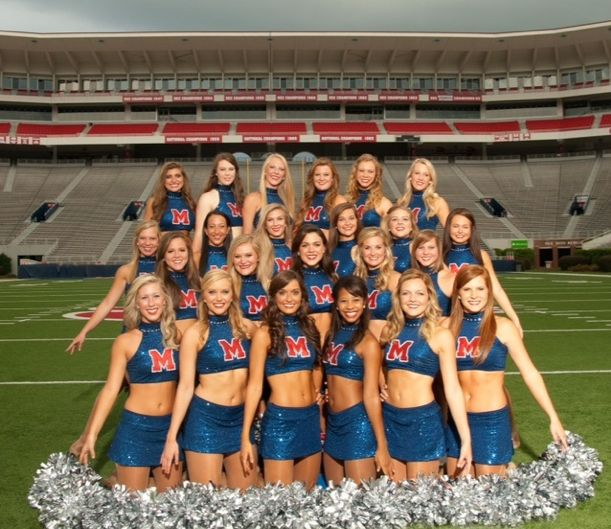Ole Miss Rebelettes   2013 poster Courtney's junior year