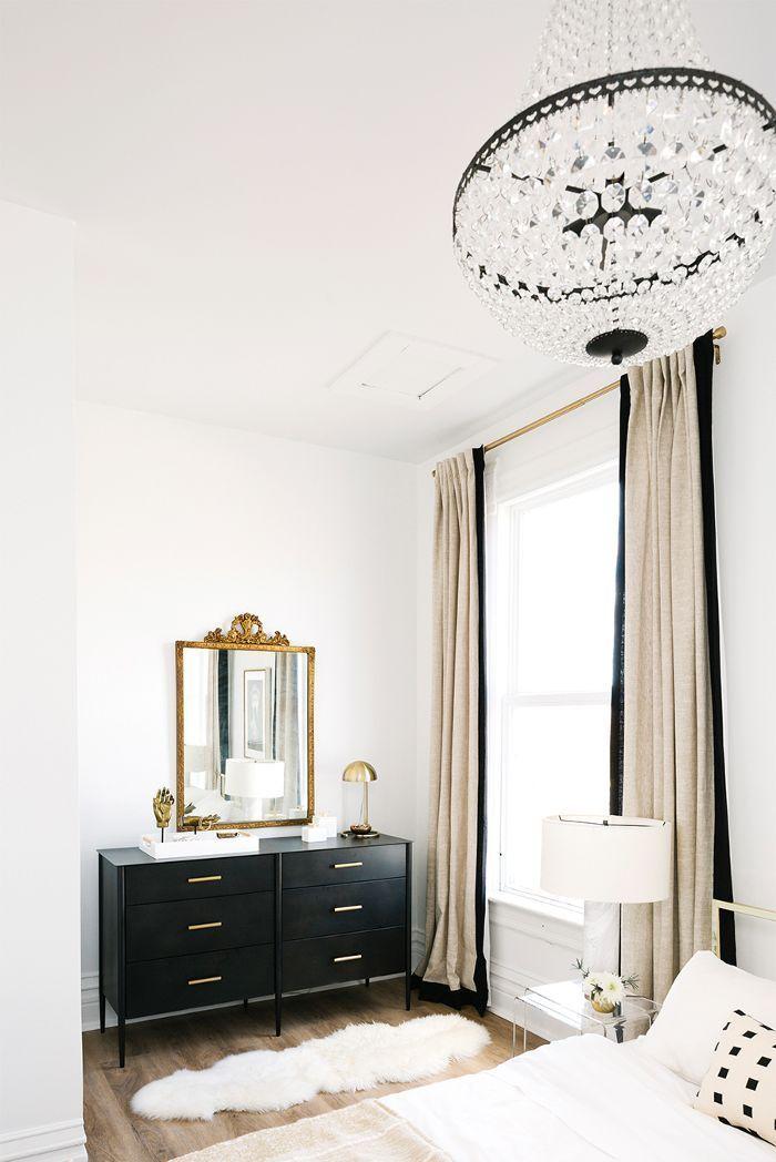 Neutral glam interiors
