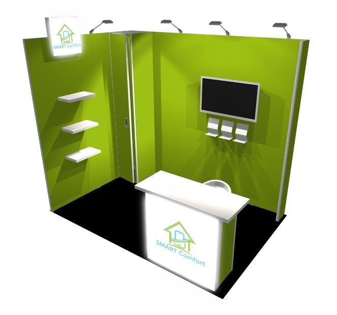 Smartcomfort stand design