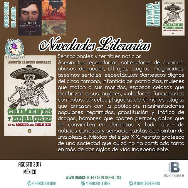 Crímenes Y Horrores En El México Del Siglo XIX de Agustín Sánchez González