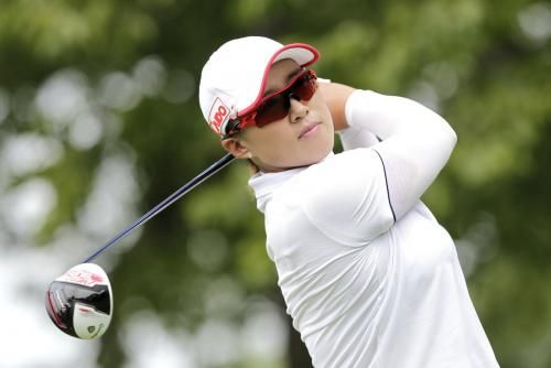 Chella Choi and Amy Yang, both of South Korea, share the lead after the weather-shortened first day of the KPMG Women's PGA Championship on…