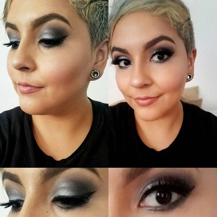Today's #gunmetal #smokeyeye using @maccosmetics and @katvondbeauty shadows and my @nicoleguerriero lashes  For hair, skin care and makeup bookings: @geegeesavage  genice.zacatenco@gmail.com  Fb: Gee Gee Savage  Twitter: geegee_savage  #mua #glamsquad #glamour #glam #smokeyeye #brows #highlight #girlswithtattoos #curlyhairdontcare #cosmetology #makeup #haircut #edgy #slay #slayallday #booknow #motd #wingedliner #beauty #beautyaddict #makeupaddict #lashgang #lashes #skin #slavetobeauty…