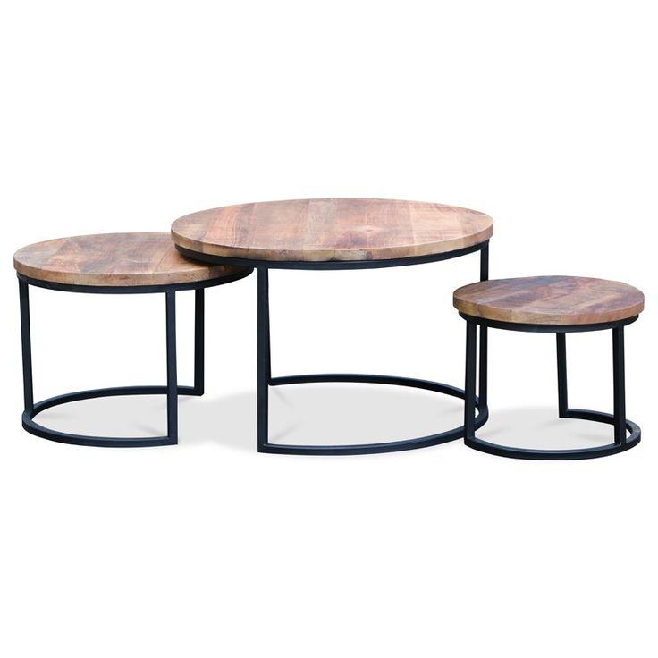Salontafel nest set van 3 - Salontafels - Tafels | Design meubelen en de laatste…