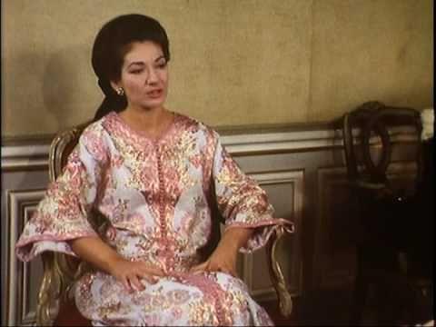 Maria Callas Interwiew 1967-1968 Part 1 - YouTube