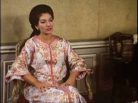 Maria Callas Interwiew 1967-1968 Part 1 - YouTube