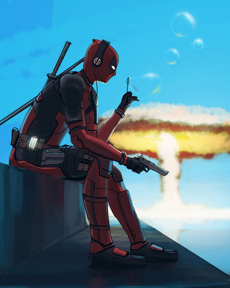 #Deadpool #Fan #Art. (Deadpool) By: Lev_Bannikov. ÅWESOMENESS!!!™ [THANK U 4 PINNING!!!<·><]<©>ÅÅÅ+