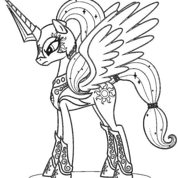 My Little Pony Coloring Pages Princess Celestia Baby My Little Pony Coloring Princess Coloring Pages Cartoon Coloring Pages