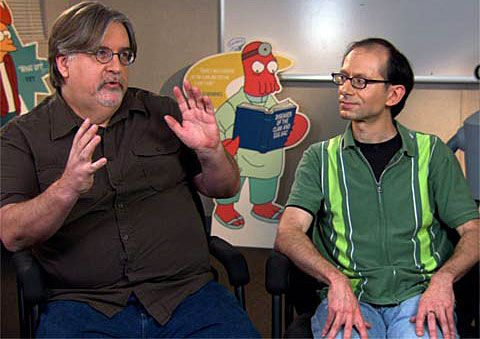 """Matt Groening, David X. Cohen and cast members Billy West, John DiMaggio and Maurice LaMarche will take part in the """"Futurama"""" live stream on July 11."""