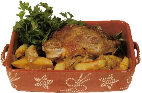 Receita de Cabrito Assado (Beira Baixa) | Cozinha Tradicional