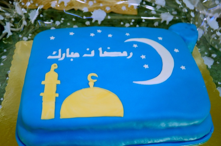 Cake Designs For Ramadan : 17 Best images about Ramadan cakes on Pinterest Cookie ...