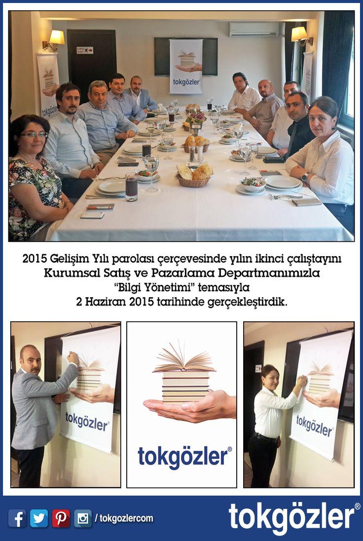 """2015 Gelişim Yılı parolası çerçevesinde yılın ikinci çalıştayını Kurumsal Satış ve Pazarlama Departmanımızla """"Bilgi Yönetimi"""" temasıyla 2 Haziran 2015 tarihinde gerçekleştirdik."""