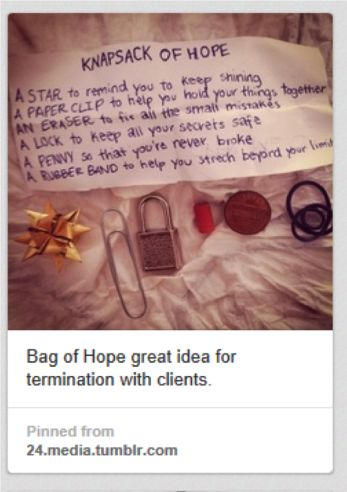 Grief Survival Kit and other grief activities modified from Pinterest ideas.  GREAT!