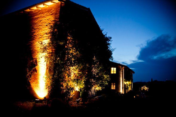 Cà Bianca by night # wedding destination