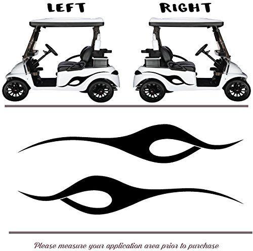 Golf Cart, Go Cart Vinyl Graphic Decal Stickers, Set os (... https on amazon garden carts, amazon scooters, amazon beach carts,