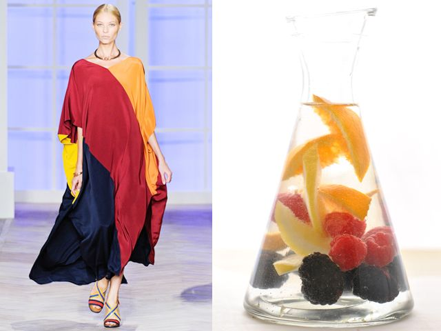 Tommy Hilfiger ss 2012 / Fruit flavored water