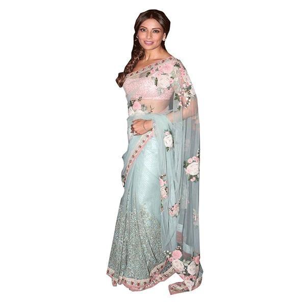 Bipasha Basu Multicolor Net Saree With Floral Embroidery Designer Net Sarees https://ladyindia.com/collections/net-sarees/products/bipasha-basu-multicolor-net-saree-with-floral-embroidery-designer-net-sarees #saree #netsaree #designersaree #embroideredsaree