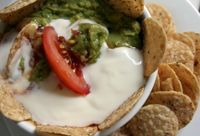 This dairy-free sour cream is great for dairy-free tacos or seven-layer dip.