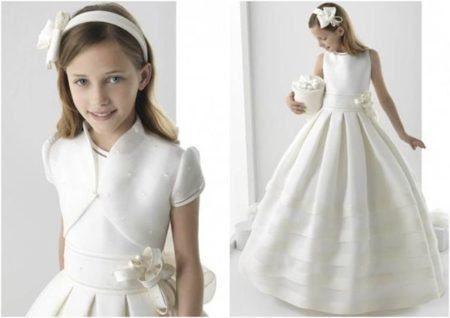 vestidos para dama de honra modelo princesa