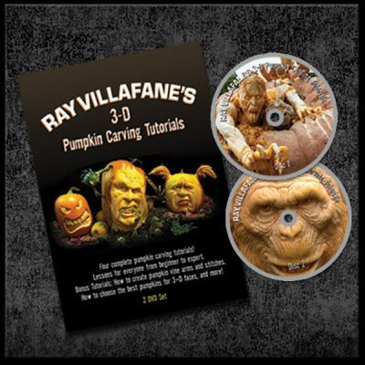 Ray Villafane 3D Pumpkin Carving Tutorials on DVD