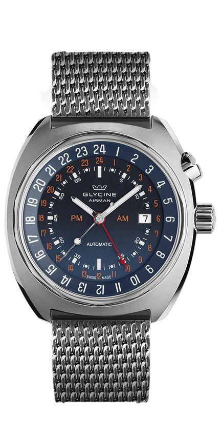 ::: Glycine Watch ::: Bienne 1914 ::: Swiss Made ::: #watch