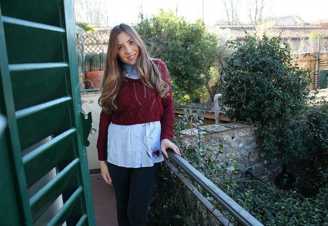 The Pink Illusion: Come abbinare un maglione bordeaux