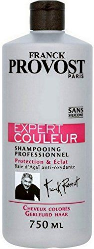 Franck Provost – Expert Couleur Shampooing Professionnel Protection & Eclat – 750 ml: Apres-shampooing Expert Couleur 750 ml