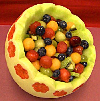 How To Make Fruit Salad Decoration Traffic Club
