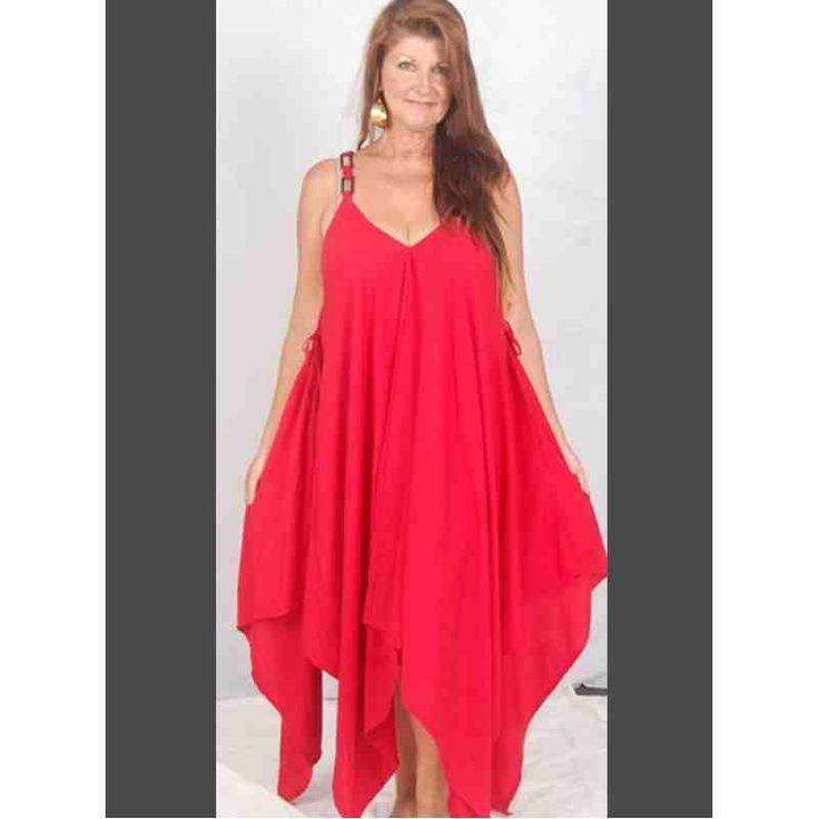 PRE-ORDER - Strappy Swing V-neck Dress Jumper (Red) $62.00 http://www.curvyclothing.com.au/index.php?route=product/product&path=95_97&product_id=9527