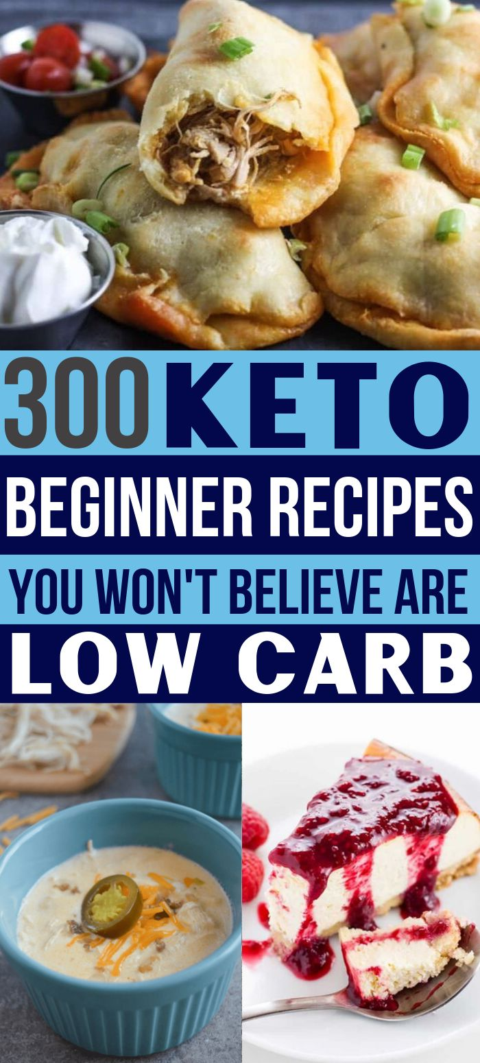 300 Keto Recipes That Ketogenic Diet Beginners Must See!
